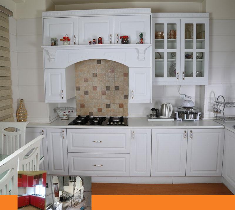 طراحی داخلی بازسازی آشپزخانه 01 - بازسازی منزل مسکونی