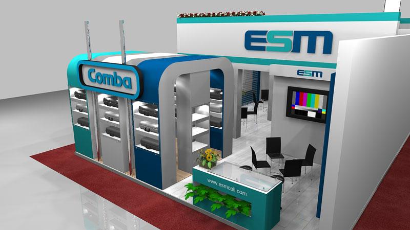 غرفهسازی اتصال صنعت میانه 05 - غرفه شرکت اتصال صنعت میانه