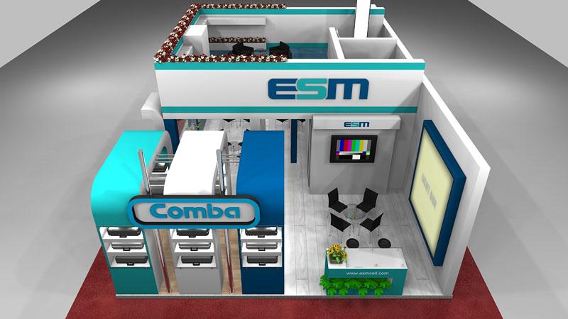 غرفهسازی اتصال صنعت میانه 06 - غرفه شرکت اتصال صنعت میانه