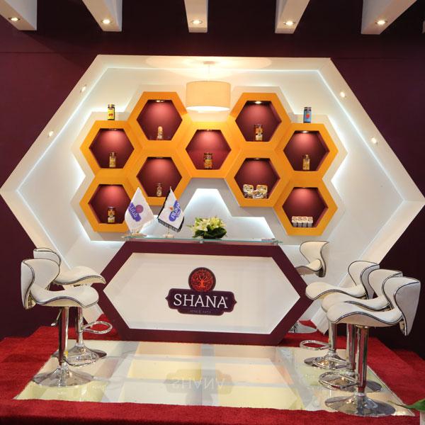 غرفهسازی محصولات غذایی شانا 00 - غرفه صنایع غذایی شانا