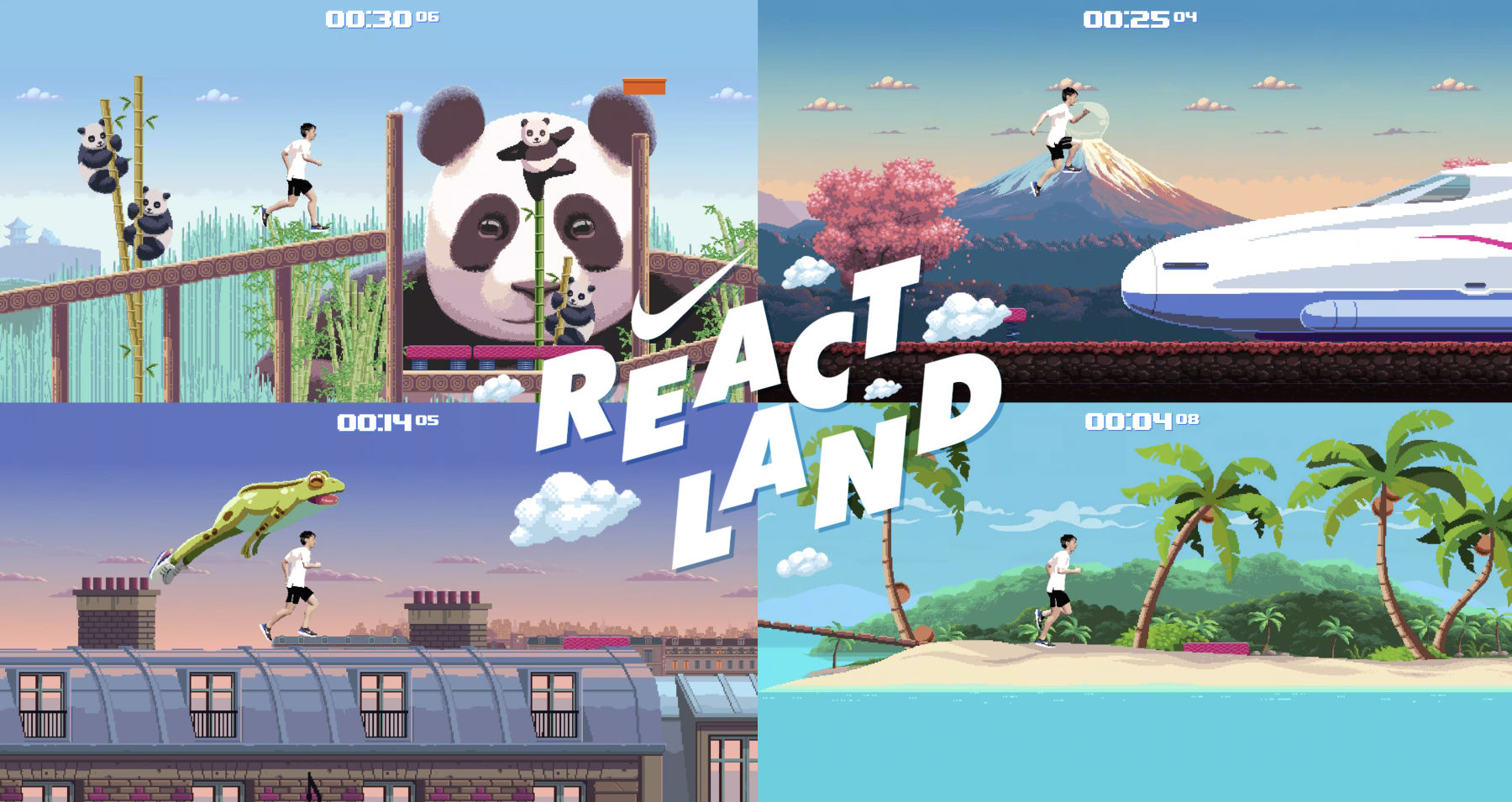 1 REACTLAND HERO - گیمیفیکیشن در تبلیغات؛ زمین بازی برای جذب مشتری