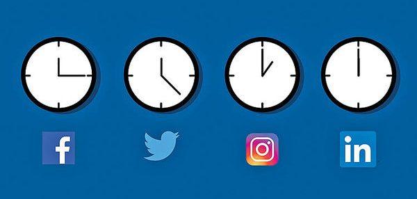 زمان انتشار محتوا